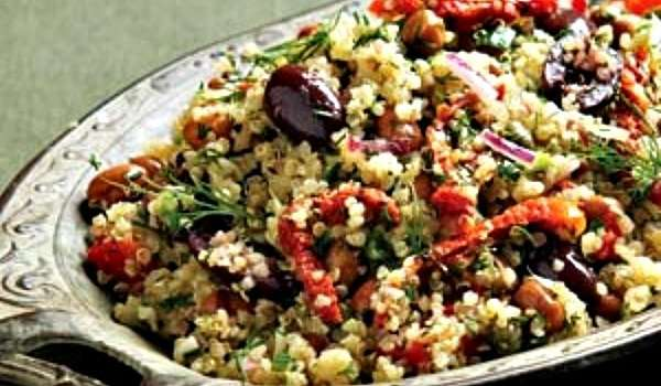 Recipe for Mediterranean Quinoa
