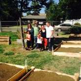 Woodlake Dig Day garden team