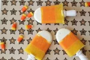 Candy Corn Popsicle DIY