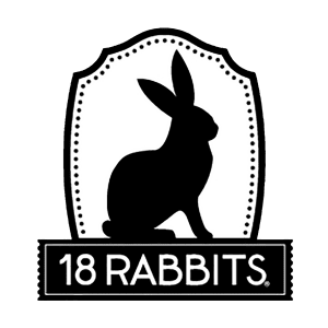 18 Rabbits logo vertical